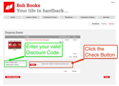 How do I use my voucher code?   Bob Books