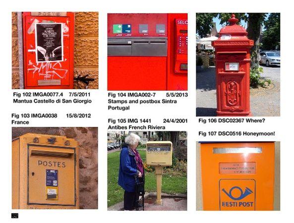 Ashmores' Postbox Tours 2005 - 2019 a d    Bob Books